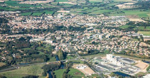 Image - Vue aérienne Terres de Montaigu © Stéphane Audran