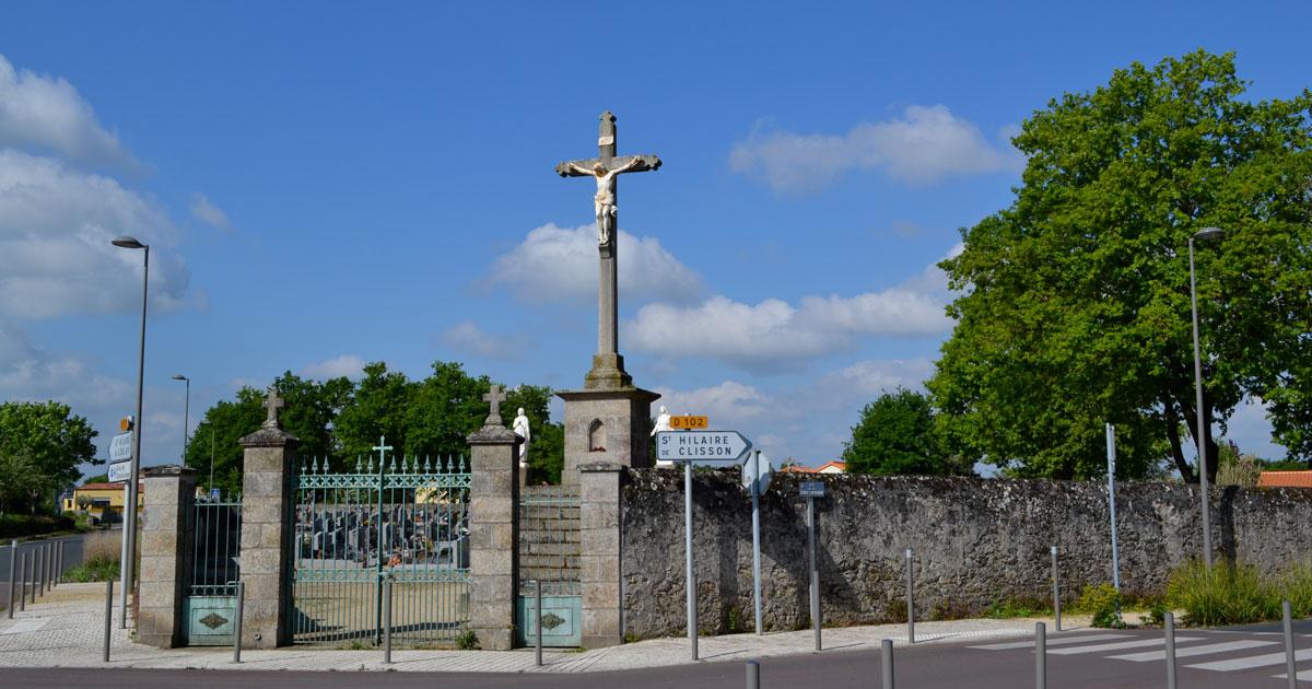 Image : Cimetière - La Bernardière