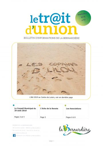 TRAIT D'UNION 53