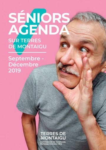 Image : Couverture - Seniors Agenda - Septembre-Décembre 2019 - Terres de Montaigu