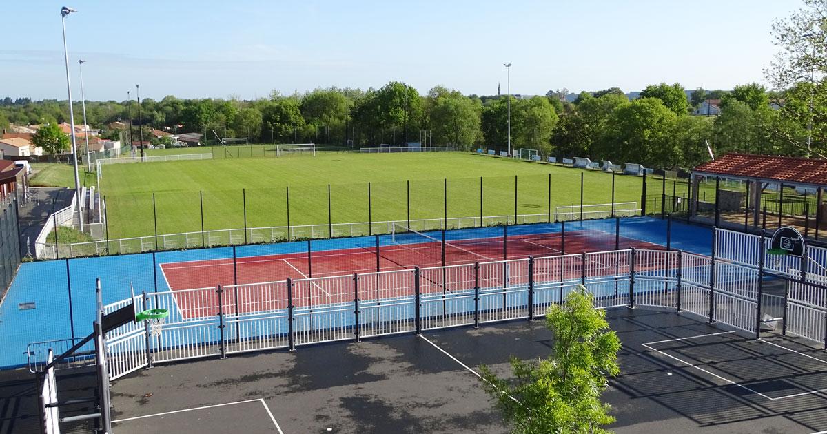 Image : Court de tennis - La Bernardière