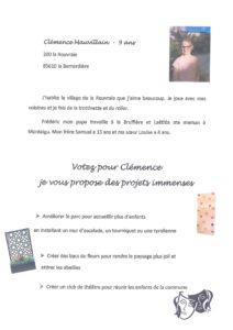 Affiche CME Clémence MAUVILLAIN