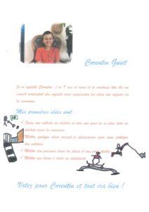 Affiche CME Corentin GUIET