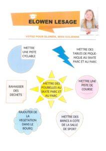 Affiche CME Elowen LESAGE