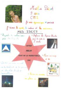 affiche CME Mélia BECOT