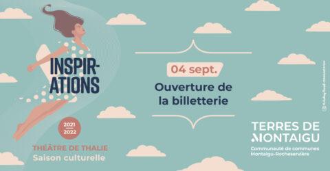 Bandeau Thalie ouverture de billetterie 2021-2022